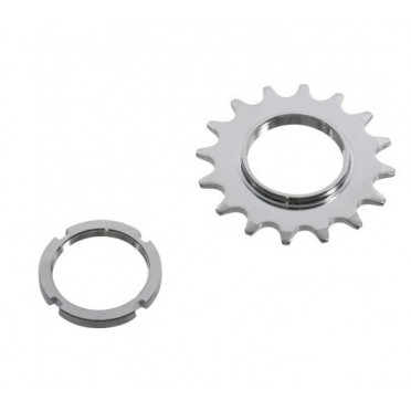 16T tandwiel & lockring