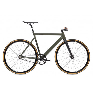 Fixie State Bicycle - Matte Black 5
