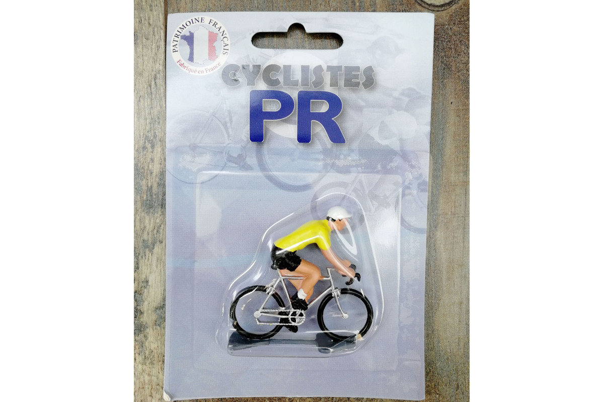 Roger Cyclist figurines - Yellow jersey