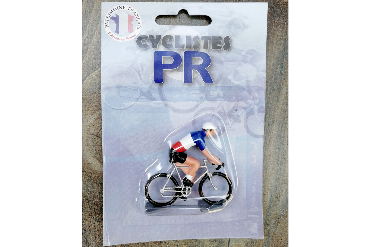 Roger Cyclist figurines - French Champion
