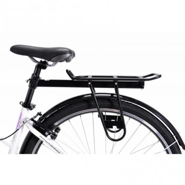 Carry luggage defers P&A Alu Noir fixation QR stalk of saddle