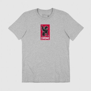 Chrome - Lock Up T-Shirt - Grey