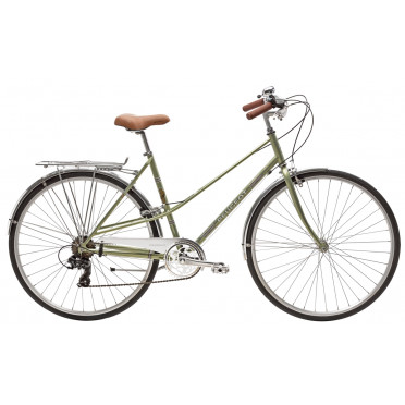 City Bike Peugeot LC01 D7 LEGEND - Green