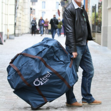 O2Feel - Folding Bike Bag with Wheels