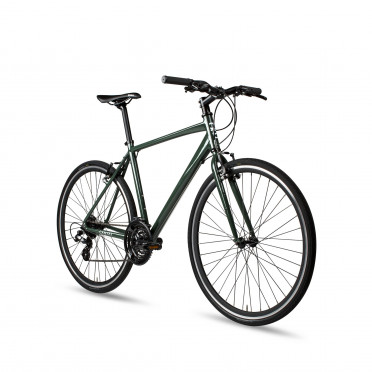 6KU Canvas Hybrid Bike - Deep Forest