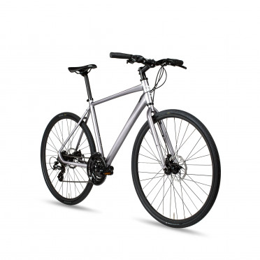 6KU Canvas Hybrid Bike - Silver
