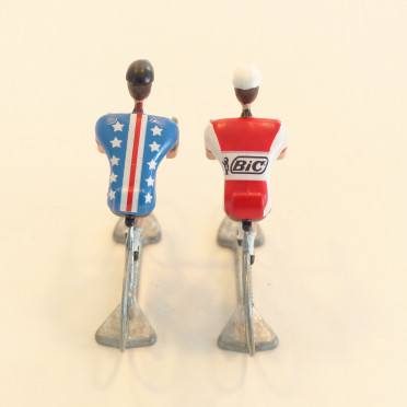 Cyclist Figurine - Bic X USA