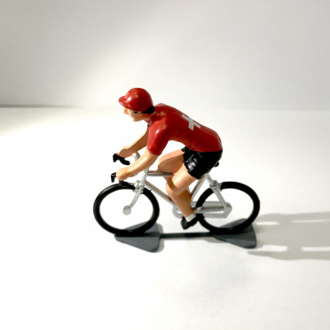Roger - Cyclist figurine - Champion of Swiss