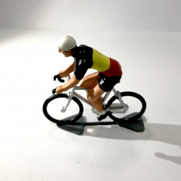 Roger - Cyclist figurine - Champion of Belgium