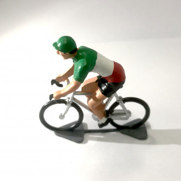 Roger - Cyclist figurine - Champion of Italy