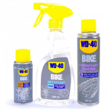 WD40 Bike Degreaser Lube Cleaner kit