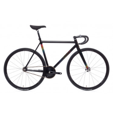 STATE BICYCLE UNDEFATED II Black Prism Edition Fixed Gear Bike