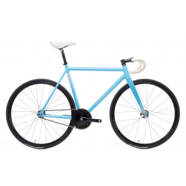 STATE BICYCLE UNDEFATED II Photon Blue Edition Fixed Gear Bike