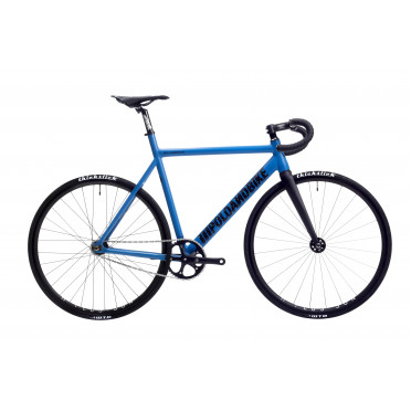 POLOANDBIKE WILLIAMSBURG Blue Fixed Gear Bike