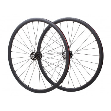 Novatec Wheelset Polished Silver