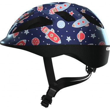 ABUS - Smooty 2.0 Blue Space - Kids Bike Helmet