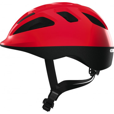 ABUS - Smooty 2.0 Shiny Red - Kids Bike Helmet