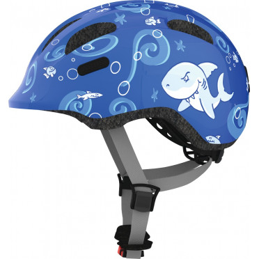 ABUS - Smiley 2.0 Blue Sharky - Kids Bike Helmet
