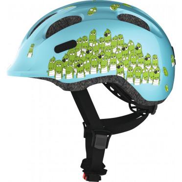ABUS - Smiley 2.0 Blue Croco - Kids Bike Helmet