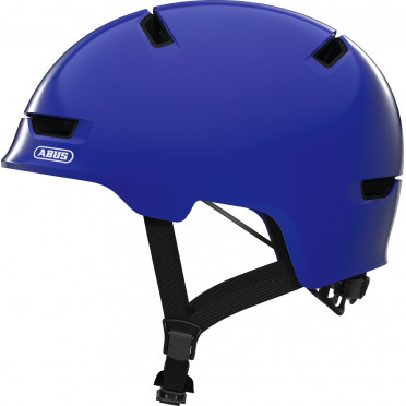 ABUS - Scraper 3.0 Shiny Blue - Kids Bike Helmet