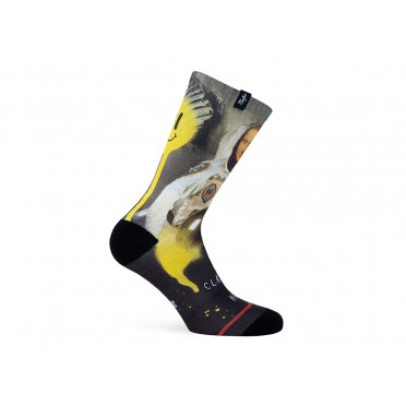 PACIFIC & CO - Moona Lisa - Cycling Socks
