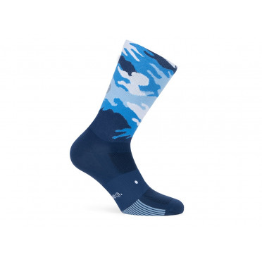 PACIFIC & CO - Camo Blue - Cycling Socks