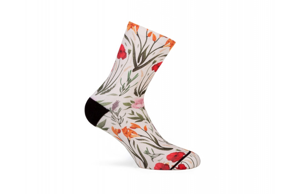 PACIFIC & CO - Blossom - Women Cycling Socks