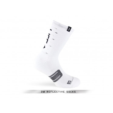 PACIFIC & CO - Speed / Slow Life (White) - Cycling Socks