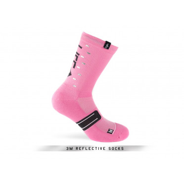 PACIFIC & CO - Speed / Slow Life (Pink) - Cycling Socks