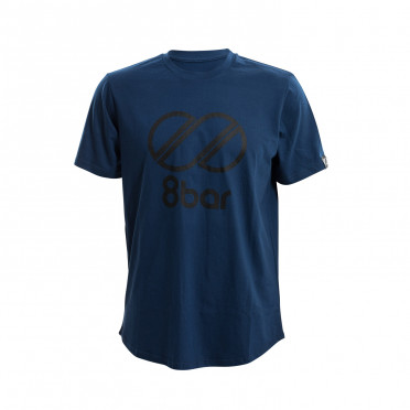 8BAR Logo - T-Shirt - Dark Blue