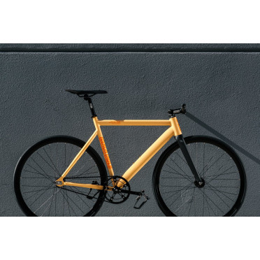 State Bicycle - Black Label V2 - Peach Orange - Fixie