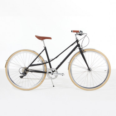 IN FINE - Flaneuse Black - Urban Bike