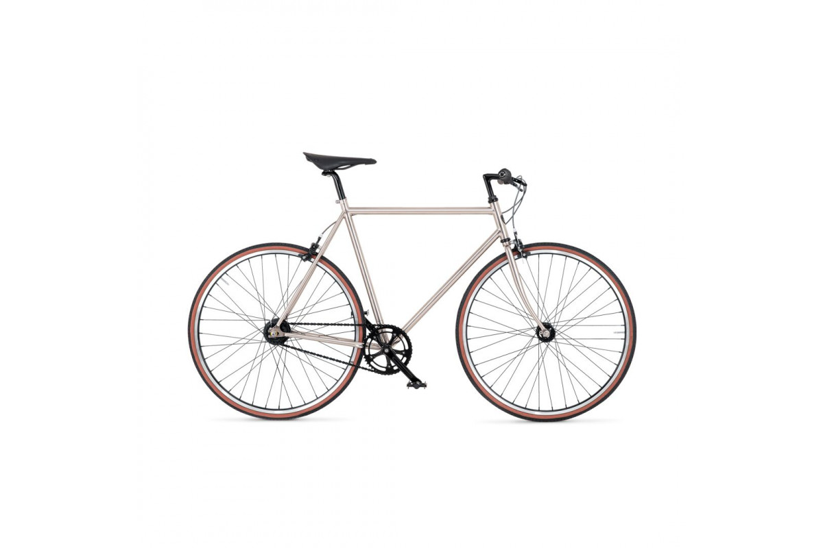 BIKEID - Diamond 7 - Chrome - City Bike