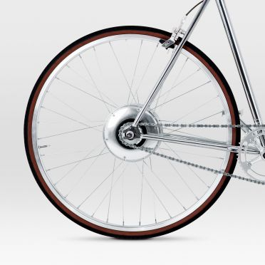 BIKEID - Diamond E - Chrome - Electric Bike