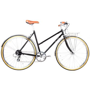 BLB - Butterfly 8SPD - Black - Town Bike