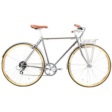 BLB - Beettle 8SPD - Chrome - Town Bike