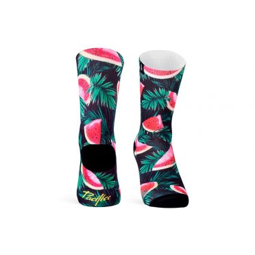 PACIFIC & CO - Watermelon - Cycling Socks