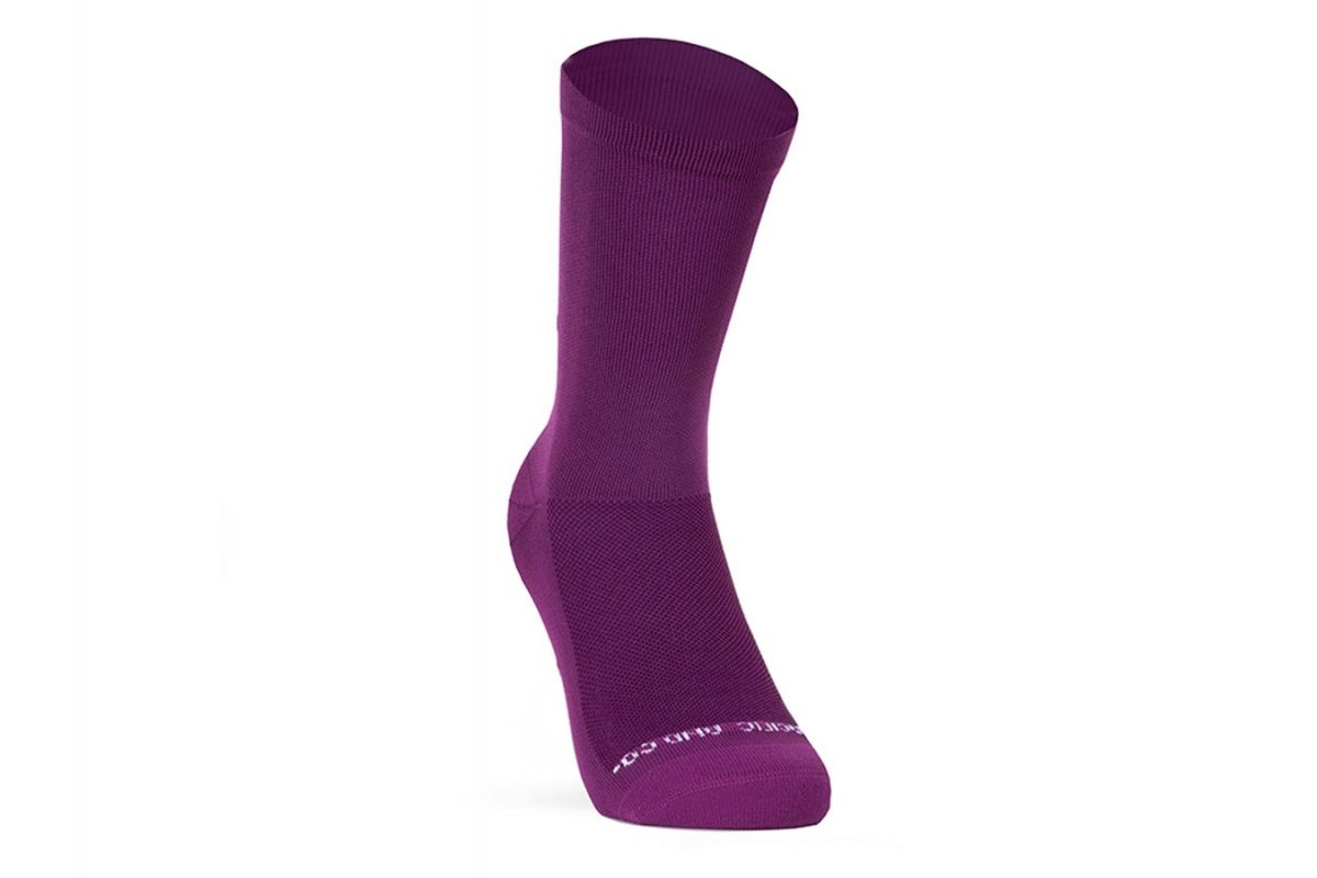 PACIFIC & CO - Good Vibes - Purple - Cycling Socks