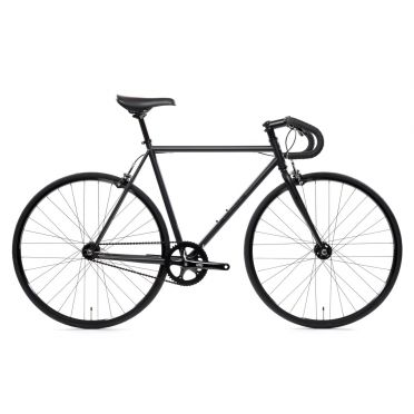 State Bicycle - The Matte Black - 4130 - Fixed Gear Bike