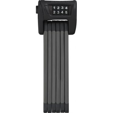ABUS - Bordo 6100A/90 - Black - Combination Code Foldable Bike Lock