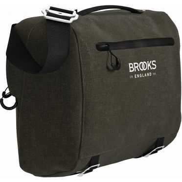 BROOKS SCAPE HANDLEBAR COMPACT BAG (10L) - MUD GREEN