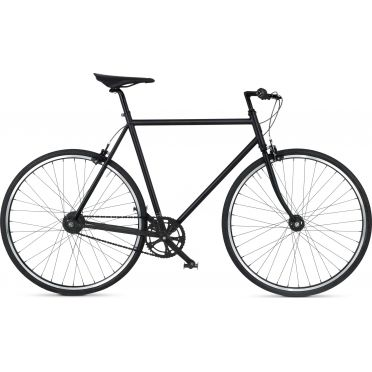 BikeID - Diamond 7 Matte Black City Bike