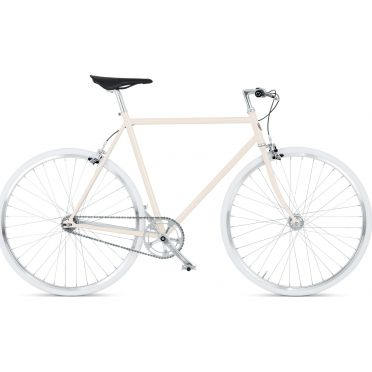 BikeID - Diamond 7 Cream White City Bike