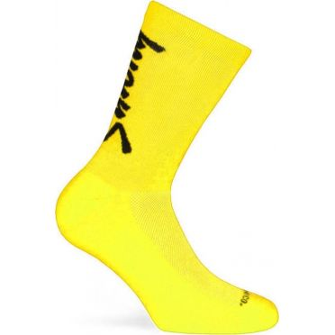 Pacific & Co - Stay strong - Yellow - Cycling Socks