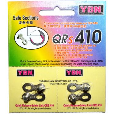 YBN - Pair of quick link for singlespeed / fixed gear bike