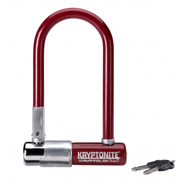 Fietsslot KRYPTONITE KRYPTOLOK SERIES 2 MINI U MERLOT