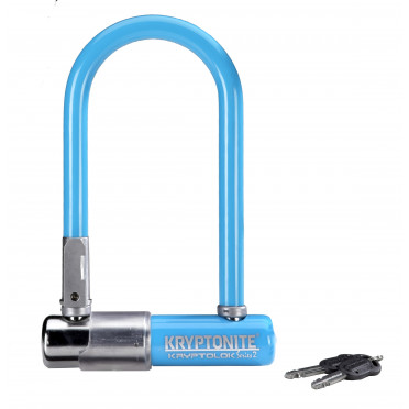 Fietsslot KRYPTONITE KRYPTOLOK SERIES 2 MINI U Blauw
