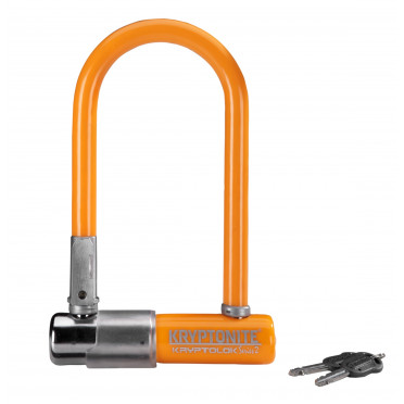 Fietsslot KRYPTONITE KRYPTOLOK SERIES 2 MINI U ORANJE